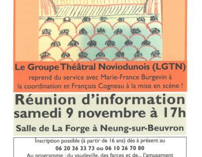 Le Groupe Théâtral Noviodunois