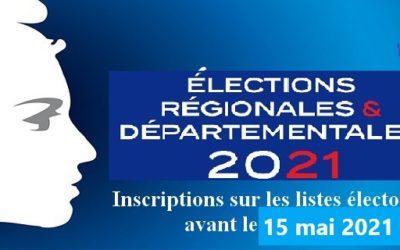 Inscriptions sur les listes électorales